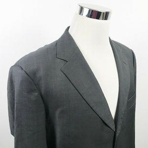 Hugo Boss Mens 42R Einstein Sigma Sport Coat Gray